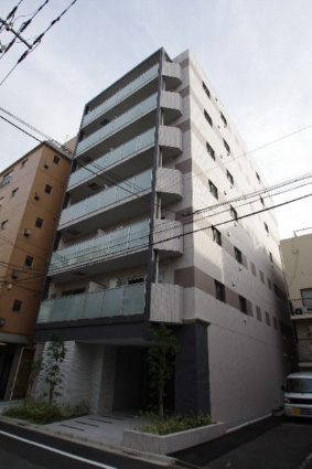 東京都江東区、越中島駅徒歩14分の築2年 7階建の賃貸マンション