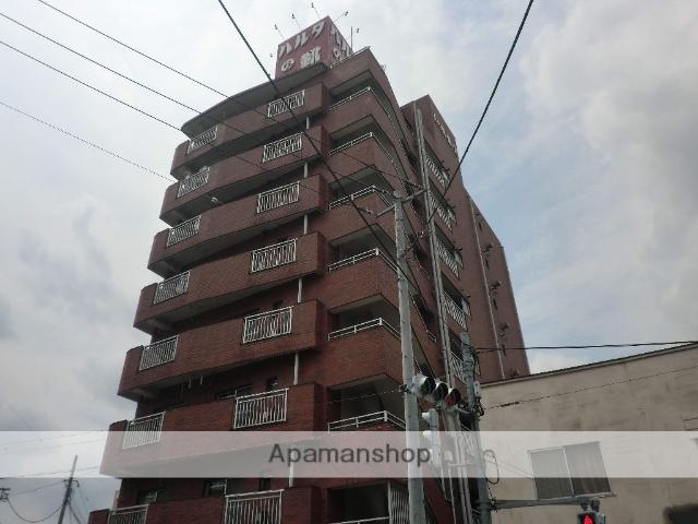 東京都足立区、牛田駅徒歩23分の築33年 8階建の賃貸マンション