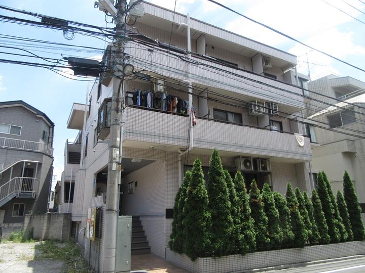 東京都荒川区、西日暮里駅徒歩16分の築25年 4階建の賃貸マンション