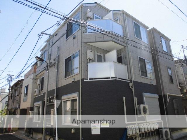 東京都足立区、千住大橋駅徒歩17分の築3年 3階建の賃貸アパート