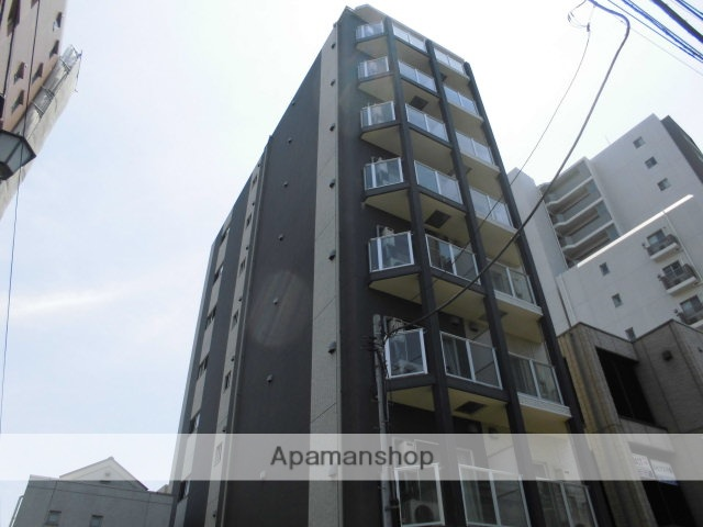 東京都足立区、牛田駅徒歩15分の築4年 8階建の賃貸マンション