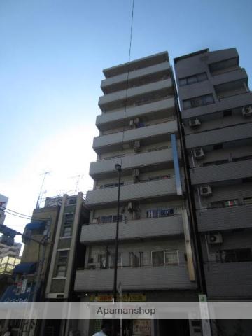 東京都台東区、日暮里駅徒歩12分の築22年 9階建の賃貸マンション