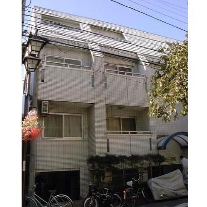 東京都荒川区、西日暮里駅徒歩10分の築27年 4階建の賃貸マンション