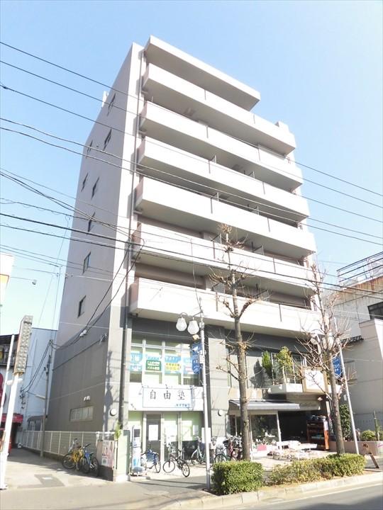 東京都荒川区、新三河島駅徒歩8分の築18年 8階建の賃貸マンション