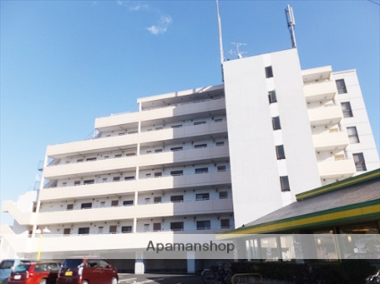 埼玉県越谷市、南越谷駅徒歩16分の築28年 7階建の賃貸マンション