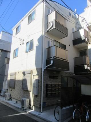 東京都荒川区、町屋駅徒歩10分の新築 3階建の賃貸アパート