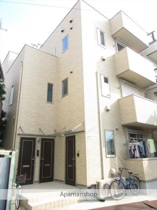 東京都荒川区、新三河島駅徒歩7分の築3年 3階建の賃貸アパート