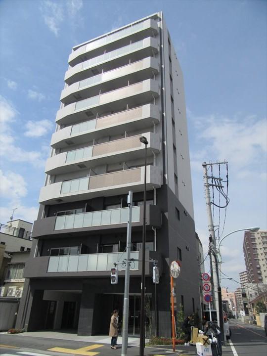 東京都荒川区、町屋駅徒歩14分の新築 10階建の賃貸マンション