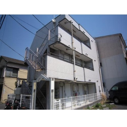 東京都荒川区、町屋駅徒歩9分の築26年 3階建の賃貸マンション