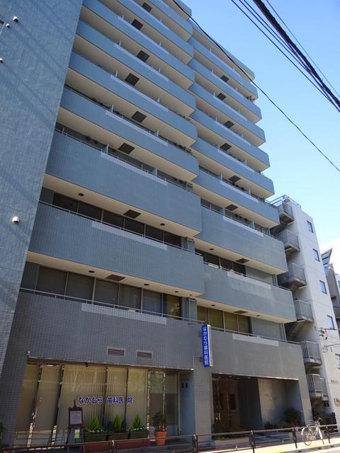 東京都台東区、上野駅徒歩4分の築27年 10階建の賃貸マンション