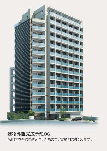 東京都渋谷区、渋谷駅徒歩3分の築5年 14階建の賃貸マンション