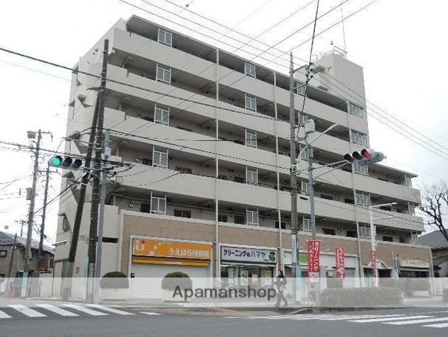 東京都練馬区、平和台駅徒歩2分の築29年 6階建の賃貸マンション