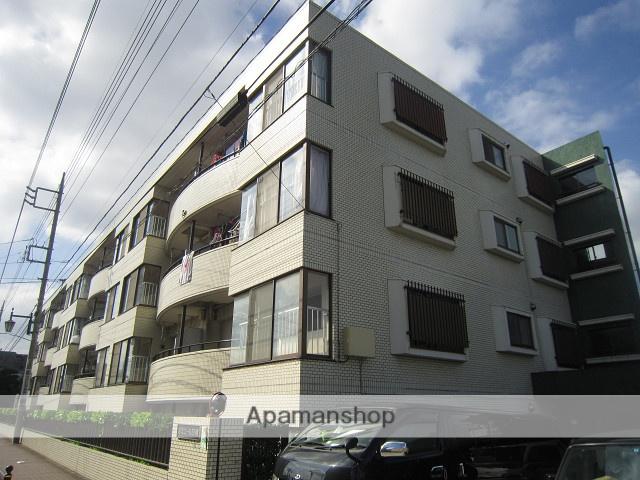 東京都練馬区、平和台駅徒歩15分の築29年 4階建の賃貸マンション