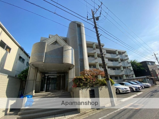 東京都練馬区、新桜台駅徒歩13分の築24年 4階建の賃貸マンション