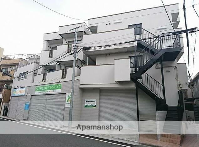 東京都練馬区、新桜台駅徒歩15分の築22年 3階建の賃貸マンション