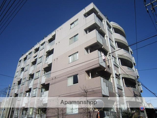 東京都練馬区、新桜台駅徒歩17分の築26年 6階建の賃貸マンション
