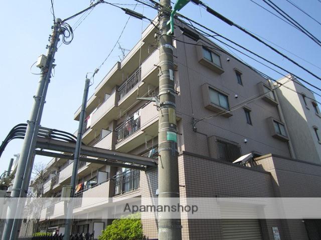 東京都練馬区、豊島園駅徒歩14分の築23年 4階建の賃貸マンション