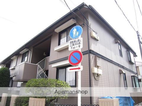 東京都練馬区、桜台駅徒歩18分の築24年 2階建の賃貸アパート