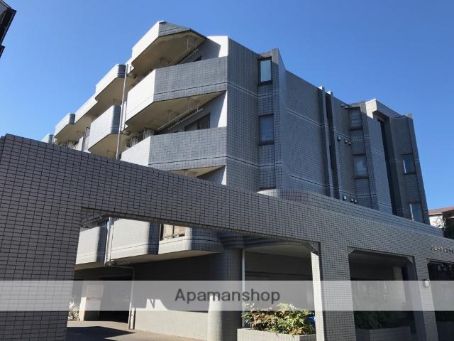 東京都練馬区、平和台駅徒歩6分の築24年 4階建の賃貸マンション