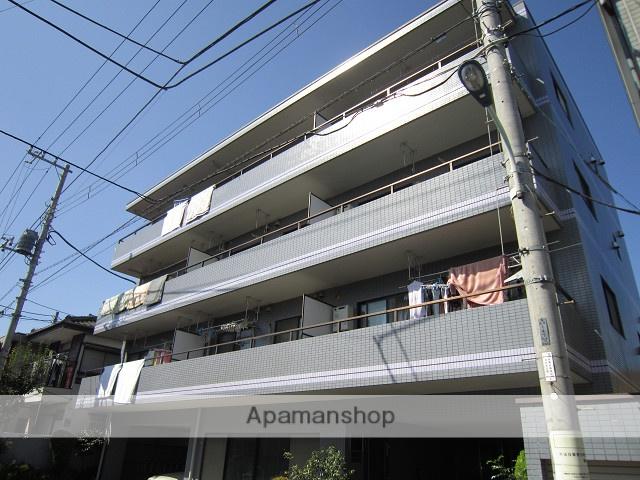 東京都練馬区、東武練馬駅徒歩18分の築24年 4階建の賃貸マンション