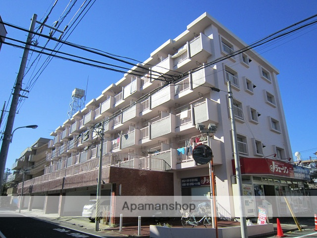 東京都練馬区、新桜台駅徒歩13分の築39年 5階建の賃貸マンション