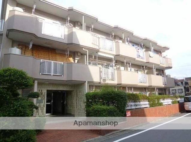 東京都練馬区、新桜台駅徒歩17分の築40年 3階建の賃貸マンション