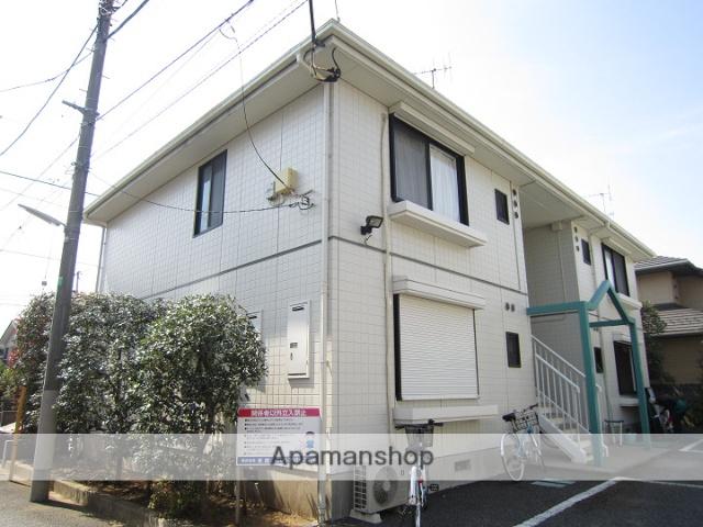 東京都練馬区、上板橋駅徒歩20分の築23年 2階建の賃貸アパート