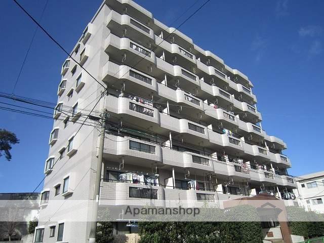 東京都練馬区、平和台駅徒歩11分の築27年 7階建の賃貸マンション