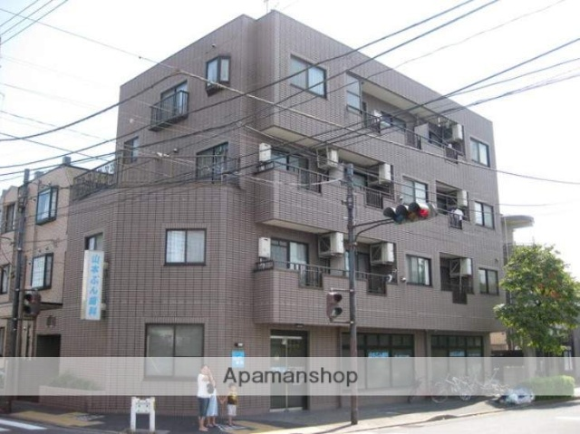 東京都練馬区、上板橋駅徒歩25分の築20年 4階建の賃貸マンション