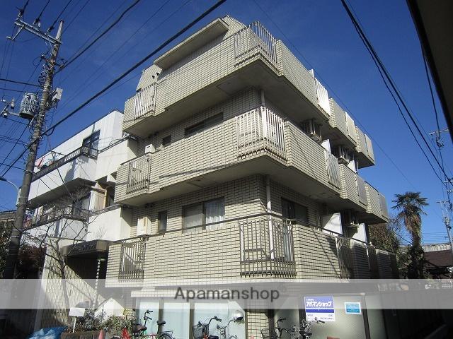 東京都練馬区、新桜台駅徒歩18分の築28年 4階建の賃貸マンション