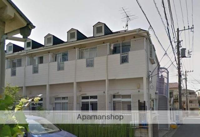東京都板橋区、大山駅徒歩13分の築25年 2階建の賃貸アパート