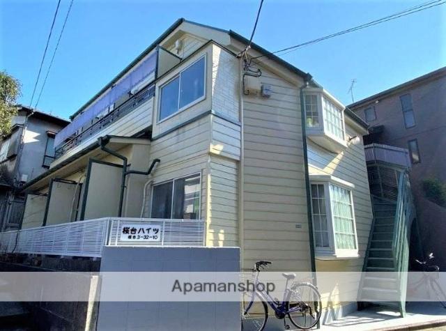 東京都練馬区、桜台駅徒歩14分の築18年 2階建の賃貸マンション