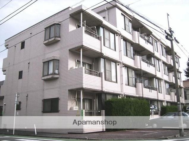 東京都板橋区、新桜台駅徒歩13分の築28年 4階建の賃貸マンション