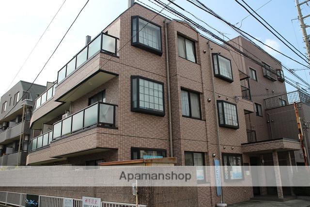 東京都練馬区、平和台駅徒歩10分の築18年 3階建の賃貸マンション