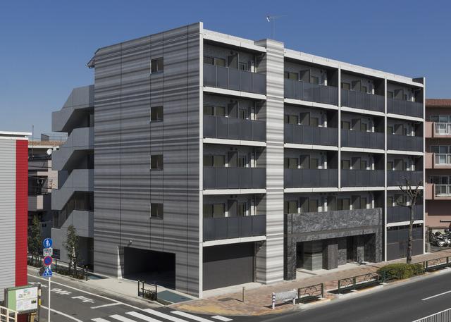 東京都板橋区、江古田駅徒歩16分の築1年 5階建の賃貸マンション
