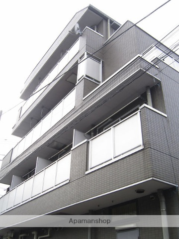 東京都練馬区、新桜台駅徒歩13分の築18年 4階建の賃貸マンション