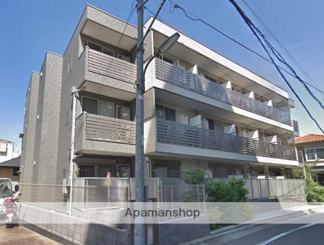 東京都練馬区、平和台駅徒歩12分の築1年 3階建の賃貸アパート