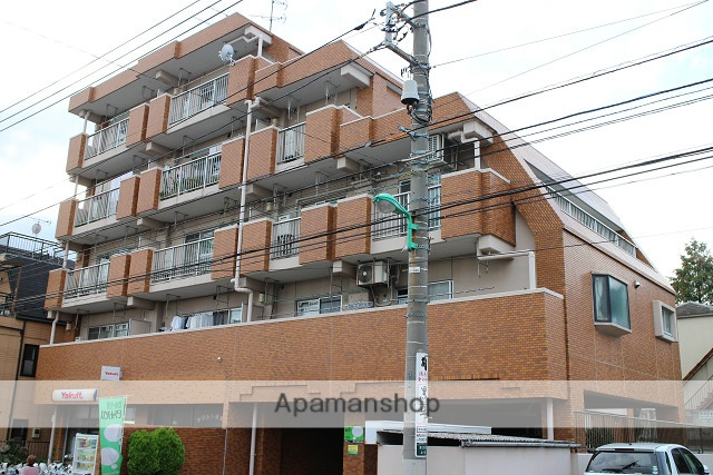 東京都練馬区、新桜台駅徒歩18分の築30年 5階建の賃貸マンション