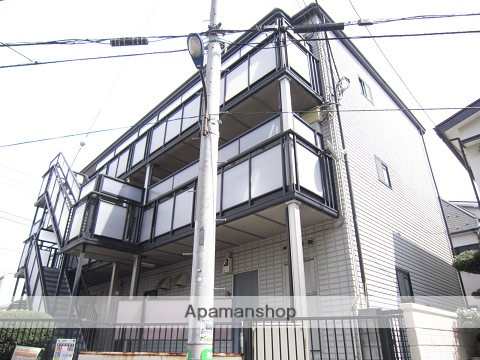 東京都練馬区、新桜台駅徒歩18分の築19年 3階建の賃貸マンション
