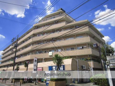 東京都練馬区、新桜台駅徒歩17分の築32年 7階建の賃貸マンション