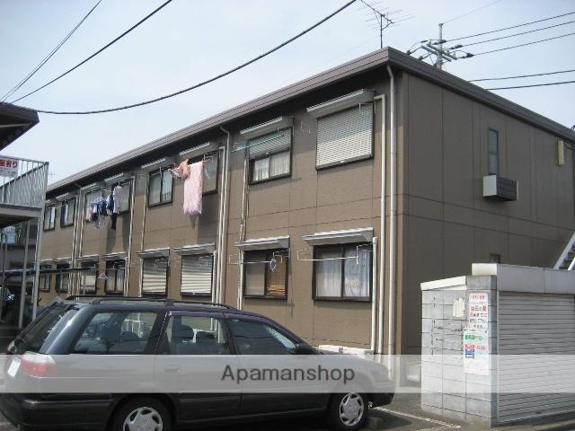 東京都練馬区、平和台駅徒歩5分の築28年 2階建の賃貸アパート