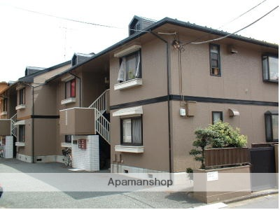 東京都練馬区、平和台駅徒歩13分の築24年 2階建の賃貸アパート