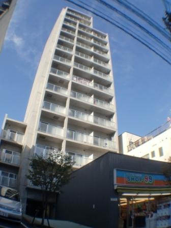 東京都新宿区、神楽坂駅徒歩7分の築13年 14階建の賃貸マンション