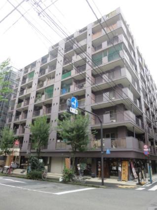 東京都千代田区、飯田橋駅徒歩8分の築36年 9階建の賃貸マンション