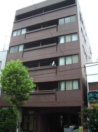 東京都台東区、浅草駅徒歩16分の築33年 6階建の賃貸マンション