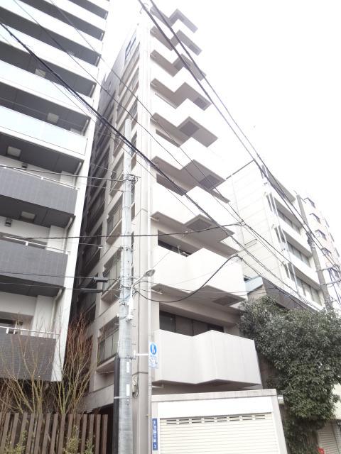東京都台東区、上野駅徒歩15分の築25年 10階建の賃貸マンション