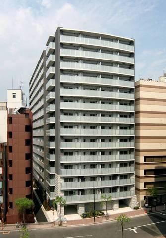 東京都中央区、銀座駅徒歩8分の築9年 14階建の賃貸マンション