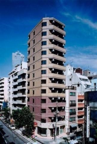 東京都中央区、築地駅徒歩4分の築14年 12階建の賃貸マンション