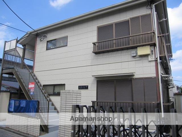 東京都杉並区、高円寺駅徒歩15分の築25年 2階建の賃貸アパート