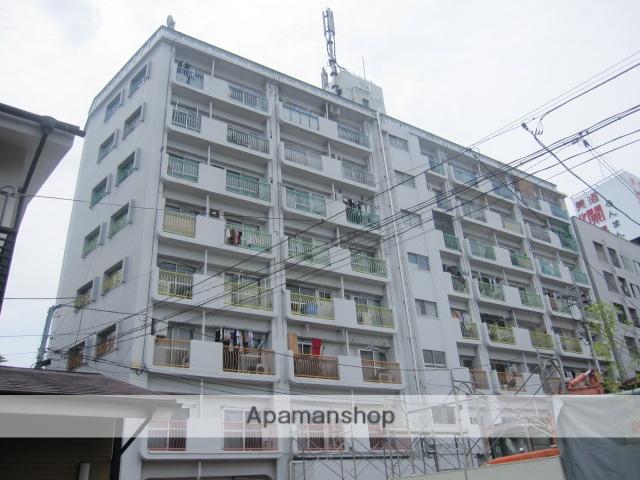 東京都杉並区、高円寺駅徒歩6分の築46年 8階建の賃貸マンション